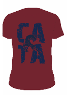 NEW !!  2020/21 CATA T-Shirt  (Maroon)