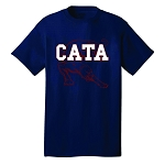 CATA Front Logo with Cougar (Navy)
