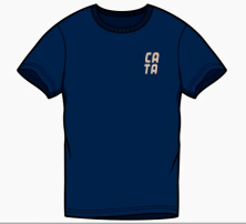 Short Sleeve T-Shirt CATA front pocket with Back Logo
